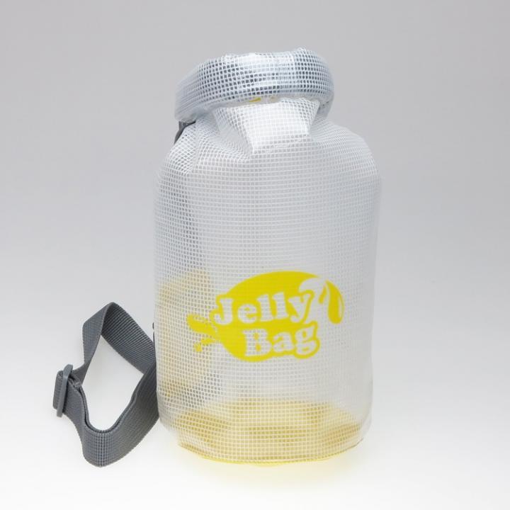 丸底デザインの防水バッグ Jelly Bag 3L イエロー
