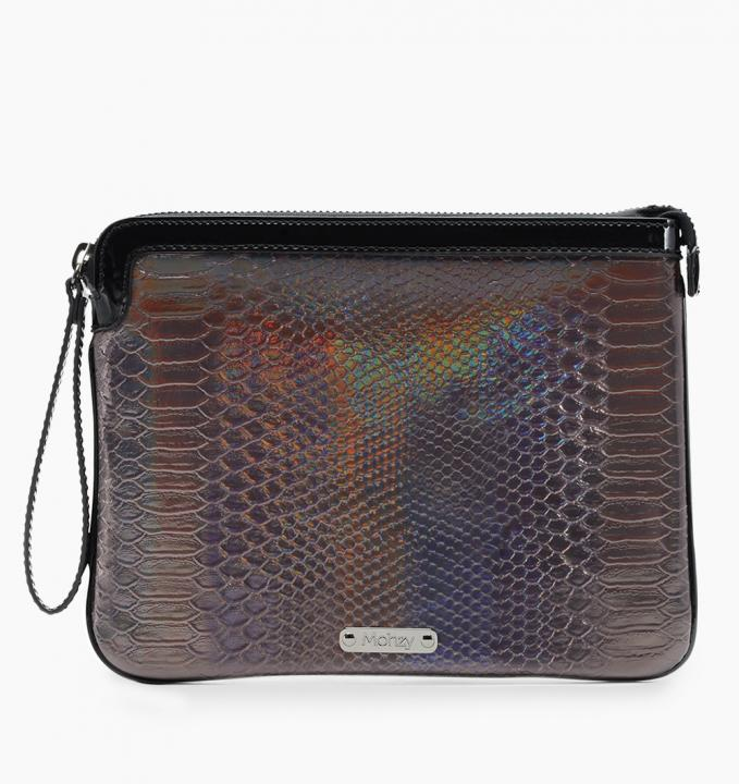 Mohzy Hello Fame Holography タブレット スリーブケース ブロンズ_0