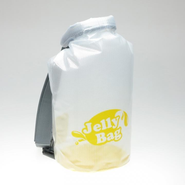 丸底デザインの防水バッグ Jelly Bag 10L イエロー_0