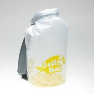 丸底デザインの防水バッグ Jelly Bag 10L イエロー