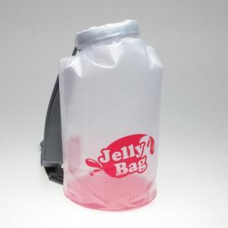 丸底デザインの防水バッグ Jelly Bag 10L ピンク