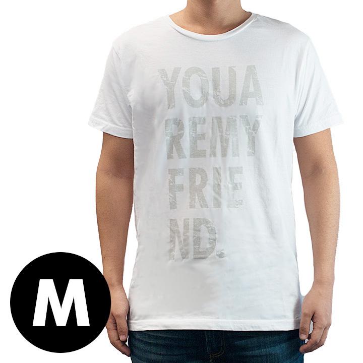 AppBankオリジナル グランジロゴTシャツ ホワイト Mサイズ_0