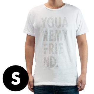 AppBankオリジナル グランジロゴTシャツ ホワイト Sサイズ