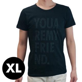 AppBankオリジナル グランジロゴTシャツ ブラック XLサイズ