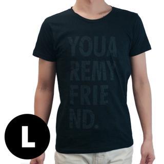 AppBankオリジナル グランジロゴTシャツ ブラック Lサイズ
