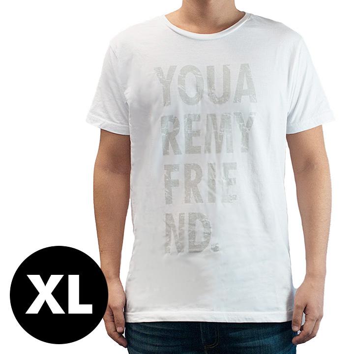 AppBankオリジナル グランジロゴTシャツ ホワイト XLサイズ_0