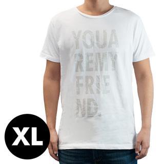 AppBankオリジナル グランジロゴTシャツ ホワイト XLサイズ