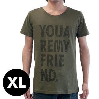 AppBankオリジナル グランジロゴTシャツ カーキ XLサイズ