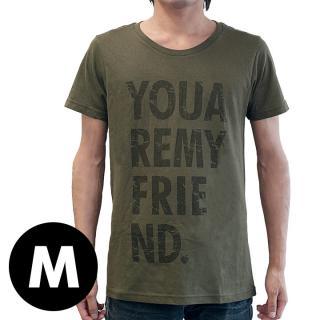 AppBankオリジナル グランジロゴTシャツ カーキ Mサイズ