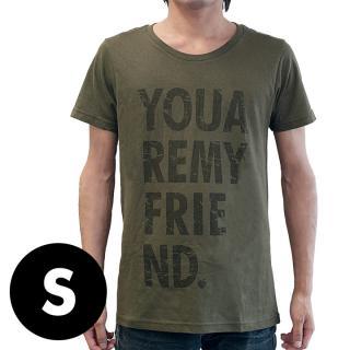 AppBankオリジナル グランジロゴTシャツ カーキ Sサイズ
