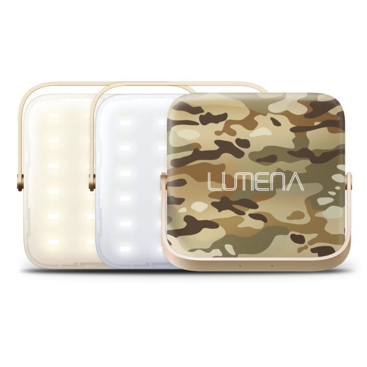 超軽量LEDランタン LUMENA(ルーメナー)7 LEDランタン 迷彩グリーン【3月上旬】_0