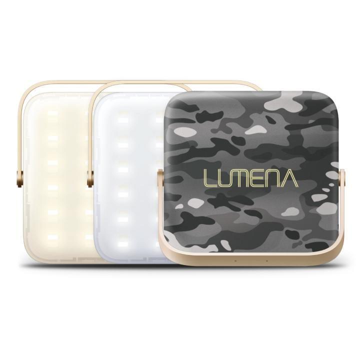 超軽量LEDランタン LUMENA(ルーメナー)7 LEDランタン 迷彩グレイ【3月下旬】