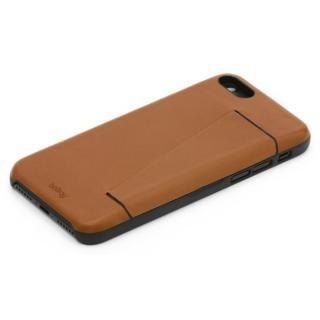 Bellroy 3枚入るカードポケット付きレザーケース Caramel iPhone 7 Plus
