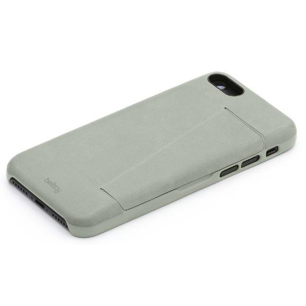 Bellroy 3枚入るカードポケット付きレザーケース Eucalyptus iPhone 7 Plus