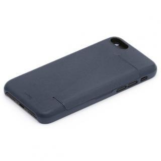 Bellroy 3枚入るカードポケット付きレザーケース Bluesteel iPhone 7 Plus