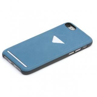 Bellroy カードポケット付きレザーケース Arcticblue iPhone 7