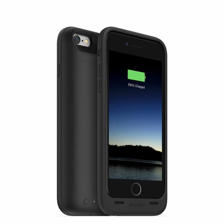 【iPhone6s/6ケース】mophie Juice Pack Air バッテリー内蔵ケース ブラック iPhone 6s/6_0
