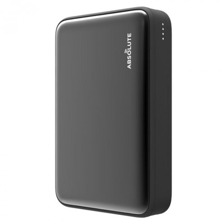 Fast Charge mini 10000 Type-C PD・QC3.0搭載モバイルバッテリー ブラック x ブラック【3月上旬】_0
