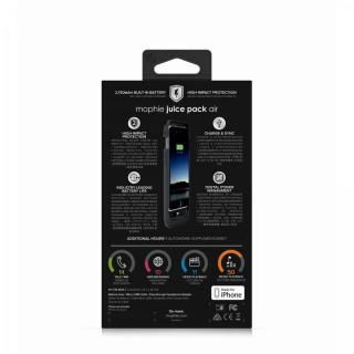 【iPhone6s/6ケース】mophie Juice Pack Air バッテリー内蔵ケース ブラック iPhone 6s/6_6
