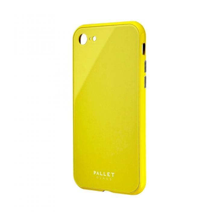 iPhone8/7 ケース 強化ガラスハイブリッドケース PALLET GLASS イエロー iPhone 8/7_0