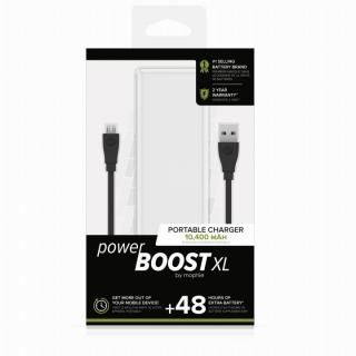 mophie Power Boost XL モバイルバッテリー [10400mAh] ホワイト