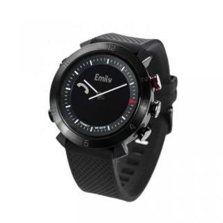 スマホ連動 無線対応アナログ文字盤腕時計 COGITO CLASSIC ブラック