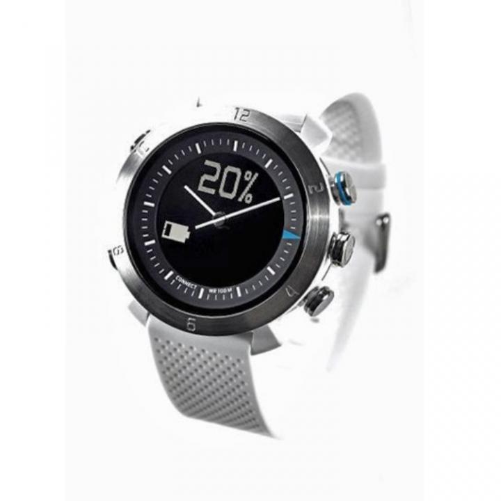 スマホ連動 無線対応アナログ文字盤腕時計 COGITO CLASSIC ホワイト_0