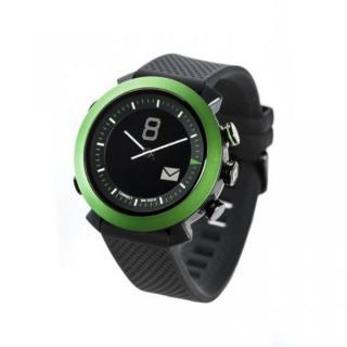 [2017夏フェス特価]スマホ連動 無線対応アナログ文字盤腕時計 COGITO CLASSIC グリーン