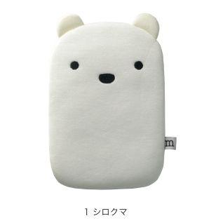 [4周年特価]ひんやりおひるね枕 シロクマ MIG-28-1