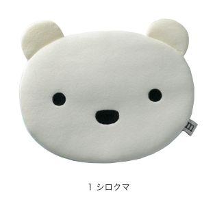 ひんやりおやすみ枕 シロクマ_0