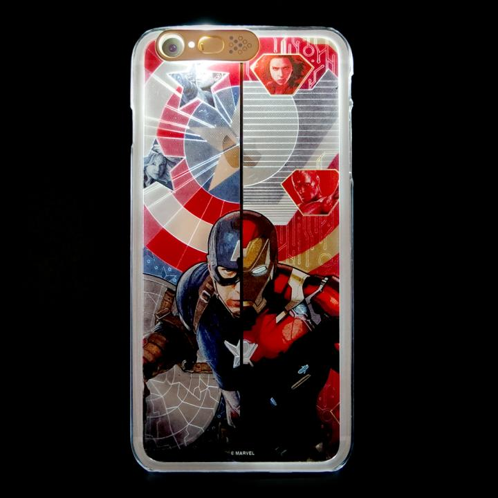 【iPhone6s/6ケース】CIVIL WAR 光るケース Face Con. iPhone 6s/6_0