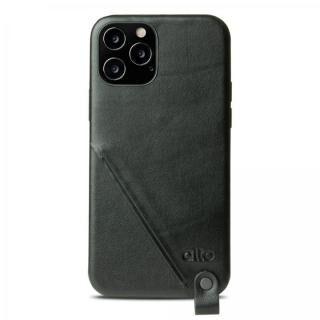 iPhone 12 / iPhone 12 Pro (6.1インチ) ケース alto Anello 360 イタリアンフルグレインレザーケース Raven iPhone 12/12 Pro【6月下旬】