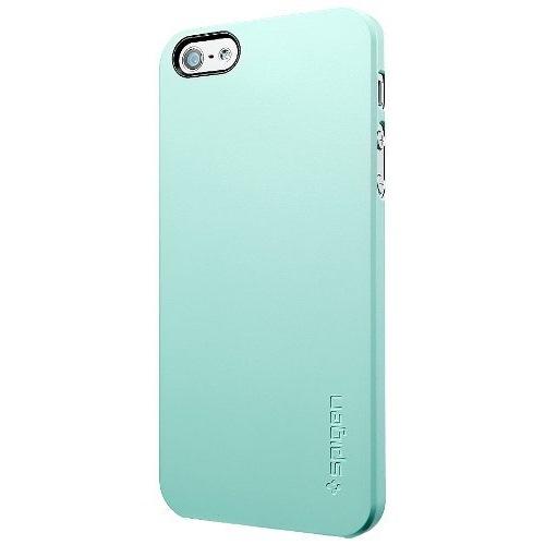 【iPhone SE/5s/5ケース】iPhone5 ケース ウルトラ・シン エア [ミント・グリーン]_0