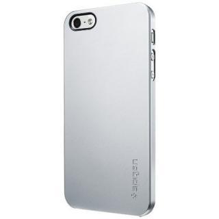 iPhone SE/5s/5 ケース ウルトラ・シン エア [サテン・シルバー]