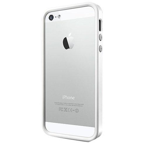 【iPhone SE/5s/5ケース】iPhone SE/5s/5 ケース ネオ・ハイブリッド EX メタルシリーズ [サテン・シルバー]_0