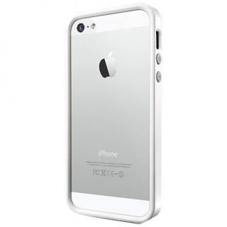 iPhone SE/5s/5 ケース ネオ・ハイブリッド EX メタルシリーズ [サテン・シルバー]