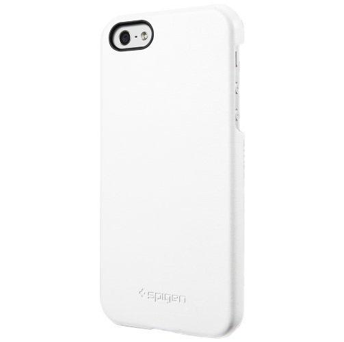 iPhone5 ケース ジェニュイン・レザーグリップ [ホワイト]