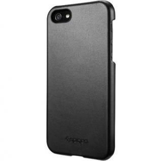 iPhone5 ケース ジェニュイン・レザーグリップ [ブラック]