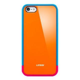 iPhone SE/5s/5 ケース リニア ポップスシリーズ [オレンジ]