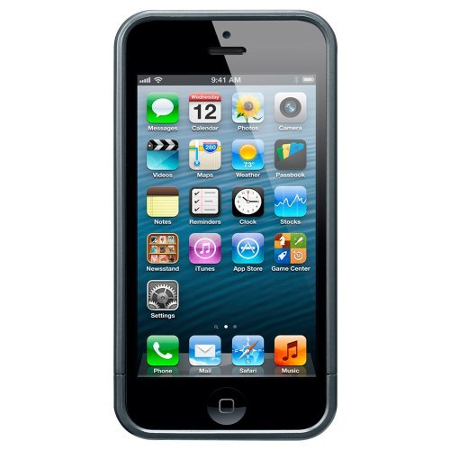 iPhone SE/5s/5 ケース リニア メタルシリーズ [メタル・スレート]