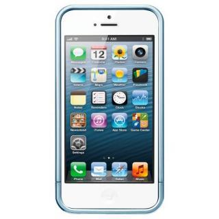 iPhone SE/5s/5 ケース リニア メタルシリーズ [メタル・ブルー]