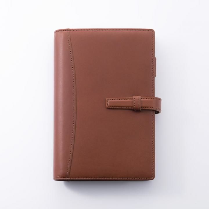 GRAMAS Meister TOIANO System Organizer Bible size ダークブラウン_0