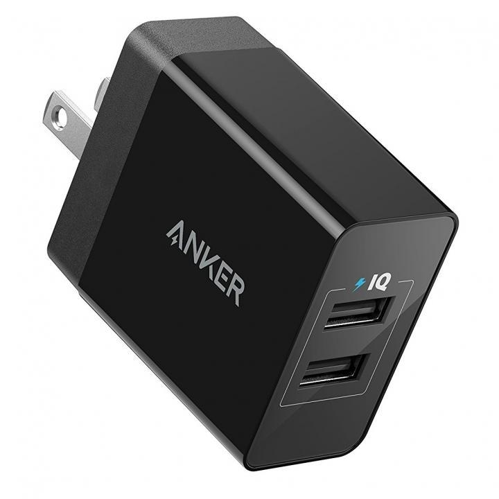 Anker PowerPort 2 Eco USB急速充電器 ブラック【6月下旬】