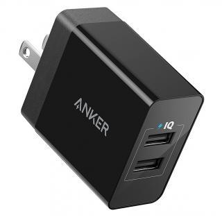 Anker PowerPort 2 Eco USB急速充電器 ブラック【1月下旬】