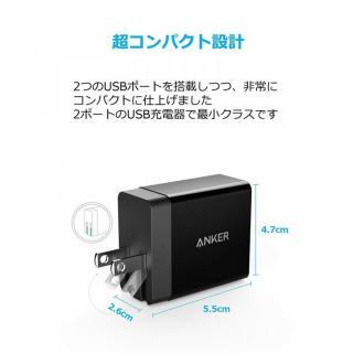 Anker PowerPort 2 Eco USB急速充電器 ブラック_2