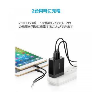 Anker PowerPort 2 Eco USB急速充電器 ブラック_6