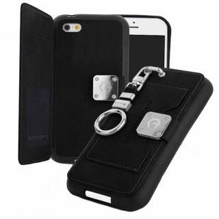 マルチ収納ケース CLUTCH BUMPER ブラック iPhone 6s/6
