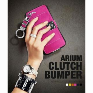 【iPhone6ケース】マルチ収納ケース CLUTCH BUMPER ホワイト iPhone 6_5
