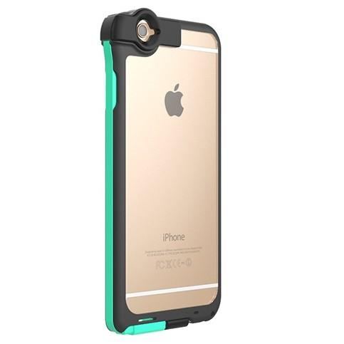 Lightningケーブル一体クリアケース CONTACT ミント iPhone 6