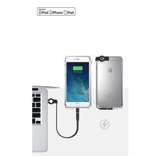 【iPhone6ケース】Lightningケーブル一体クリアケース CONTACT ミント iPhone 6_1